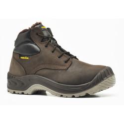 Chaussures de sécurité NORWAY cuir marron - 2845