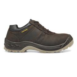 Chaussures de sécurité NIKOLA cuir marron - 2845