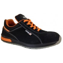 Chaussures de sécurité JEEP COVENTRY NEW velours noir/orange - 3919