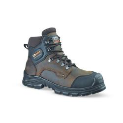 Chaussures de sécurité JALFIR SAS cuir marron - JJE41