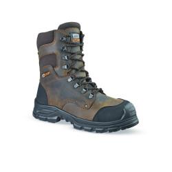 Chaussures de sécurité JALSEQUOIA SAS cuir marron - JJE42
