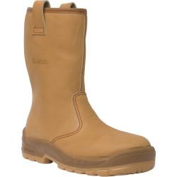 Bottes de sécurité JALFRIGG SAS cuir FOURREES - J0652