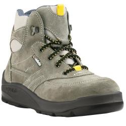 Chaussures de sécurité JALCLUB SAS velours gris - J0356