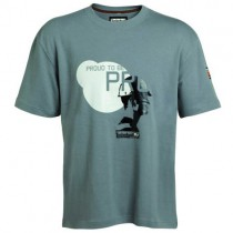 T-Shirt manches courtes GREY TIMBERLAND PRO