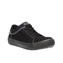 Chaussures de sécurité VALLEY croûte de cuir noir - 7834