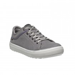 Chaussures de sécurité VALLEY croûte de cuir gris - 7850