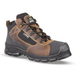 Chaussures de sécurité JALTEX SAS cuir marron - JJV53
