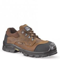 Chaussures de sécurité JALKHAYA SAS NEW cuir marron/noir - JALLATTE