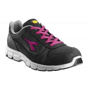 CHAUSSURE DE SECURITE RUN LOW S3 SRC NOIR/FUCHSIA  DIADORA UTILITY