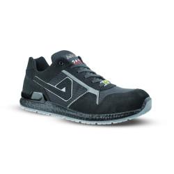 Chaussures de sécurité ERIK ESD S1P SRC velours noir - AIMONT