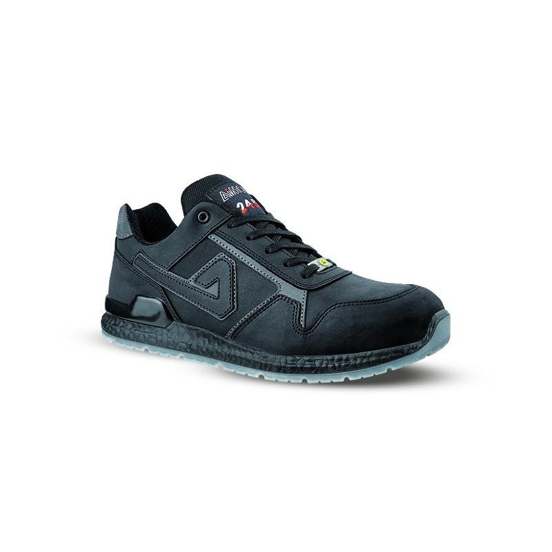 Chaussures de sécurité ROKY ESD S3 SRC cuir noir - AIMONT