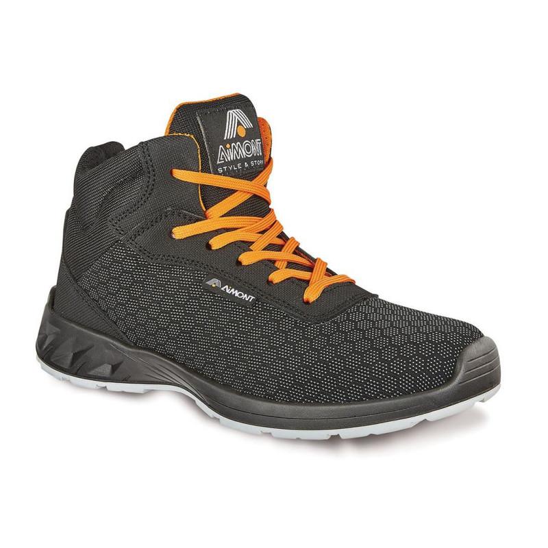 Chaussures de sécurité noires montantes AVANGER - DM10184