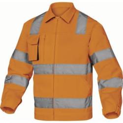 Veste WORKWEAR M2VHV haute visibilité orange fluo