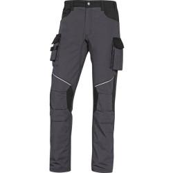 Pantalon de travail MACH2 CORPORATE MCPA2  RIPSTOP gris/noir
