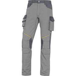 Pantalon de travail MACH2 CORPORATE MCPA2  RIPSTOP gris clair/gris foncé