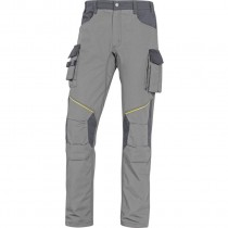 Pantalon de travail MACH2 CORPORATE MCPA2  RIPSTOP gris clair/gris
