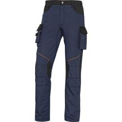 Pantalon de travail MACH2 CORPORATE MCPA2  RIPSTOP bleu marine /noir