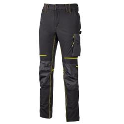 Pantalon slim stretch ATOM BLACK CARBON U-POWER