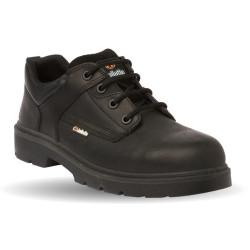 Chaussures de sécurité JALGAHERIS SAS cuir noir - JMJ04