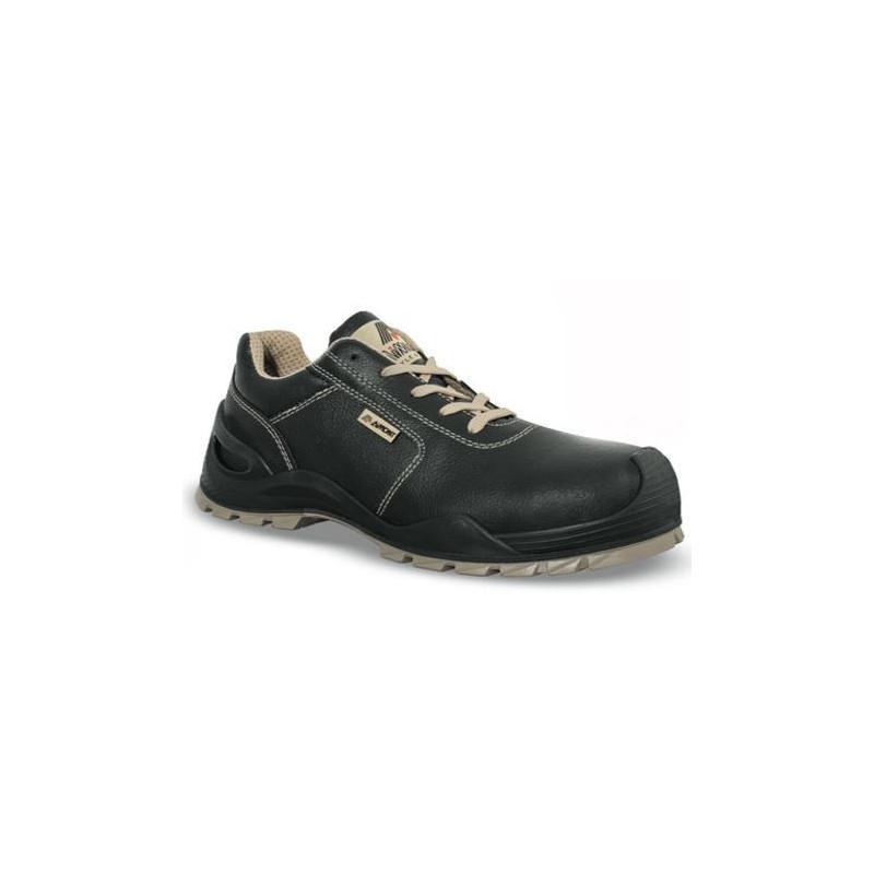 Chaussures de sécurité ROBORIS cuir noir - 7AX13