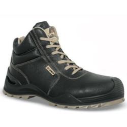 Chaussures de sécurité FORTIS cuir noir - 7AX33