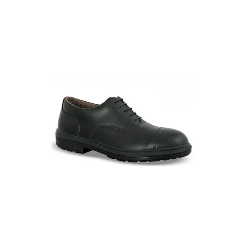 Chaussures de sécurité ETOILE cuir noir - 7RE06