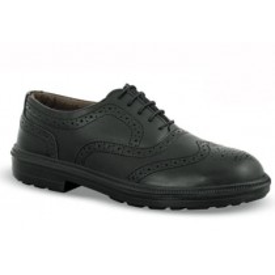 Chaussures de sécurité CONCORDE cuir noir - 7RE05