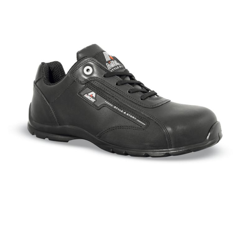 Chaussures de sécurité SKYMASTER cuir noir - 7MT16