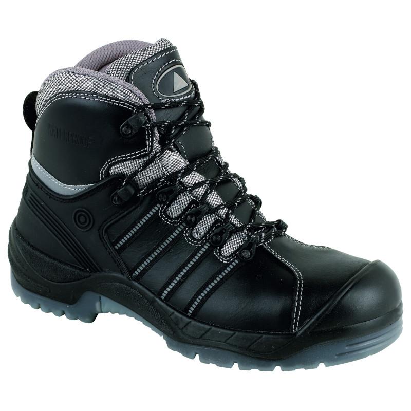 Chaussures de sécurité NOMAD cuir noir - NOMADS3NO