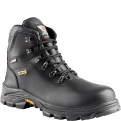 Chaussures de sécurité JALTERRE SAS cuir noir - JJV31