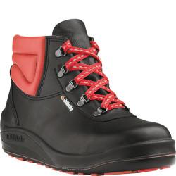 Chaussures de sécurité JALTARMAC SAS cuir noir/rouge - J0250
