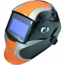 Masque de soudage réglable orange/gris - 05799