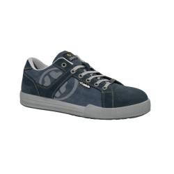 Chaussure de sécurité JALCITY toile bleue - JMO05
