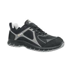 Chaussures de sécurité JALATHLON cuir noir/gris - JNU07