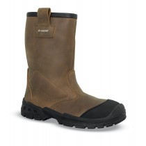 BOTTES DE SECURITE FOURREE SHERPA CUIR PULL-UP - 7SP10