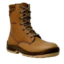 Chaussures de sécurité JALOSBERN SAS cuir marron - J0662