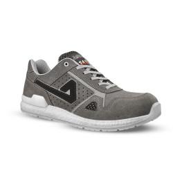 Chaussures de sécurité ICE Q velours gris - ABI10