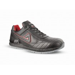 Chaussures de sécurité SEAN microfibre noir - ABI12