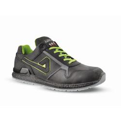 Chaussures de sécurité BIGGIE cuir noir - ABI03