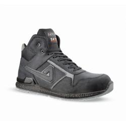 Chaussures de sécurité KANYE cuir noir - ABI04