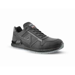 Chaussures de sécurité CALVIN cuir noir - ABI06