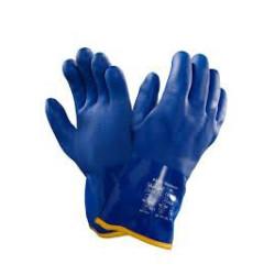 Gant VERSATOUCH PVC antifroid bleu doublé - 23-202